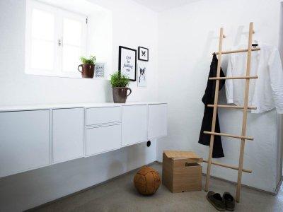 BOKKS von kommod Aufbewahrungsbox für Kleiderleiter