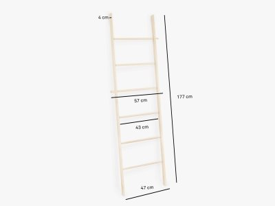 Product dimensions clothing ladder MARTA