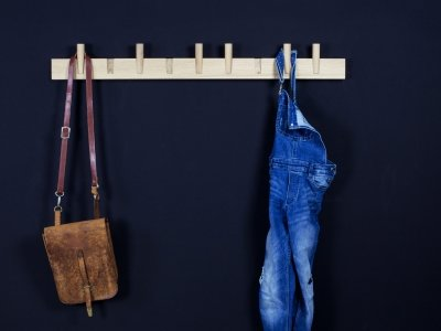 STEQS Garderobenleiste groß von kommod