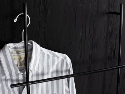 Kleiderleiter ENDRA von kommod Seitenansicht