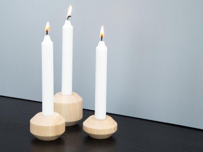 TAKKS candle holder