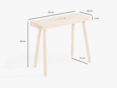Product dimensions stool HOQDI
