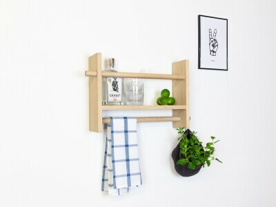 JAP wooden shelf