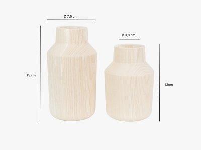 Product dimensions vase KLAVA