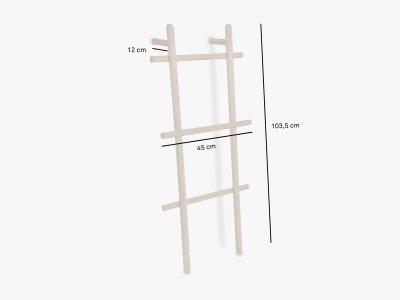 Product dimensions clothes rack MINILOADAH