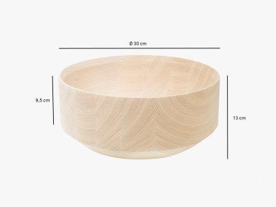 Product dimensions bowl TALSA
