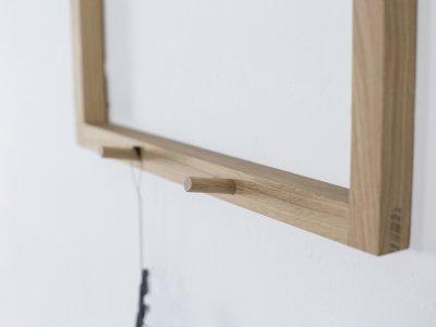 Holzgarderobe SERVUS von kommod Detail