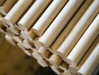 Holzrundstäbe aus FSC zertifiziertem Holz